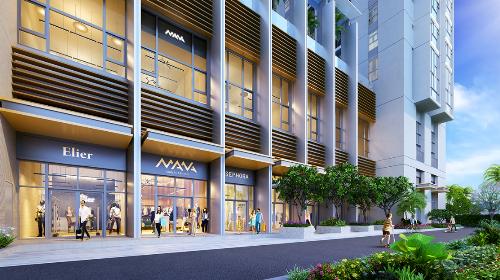 Multi - Shop: cửa hàng thương mại tiện lợi và thông minh, có thể thiết kế riêng không gian sinh hoạt cho chủ sở hữu.