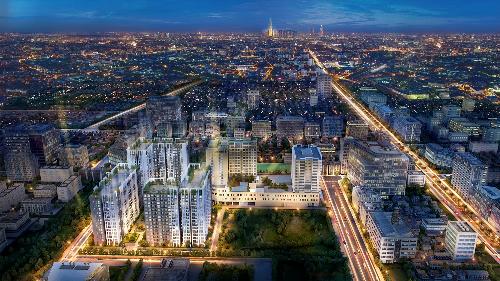 Dự án Cộng Hòa Garden có quy mô đến 3ha, nằm trong một trong nhữngkhu vực phát triển bất động sản của TP HCM.