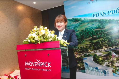 Bà Đặng Thị Nhị Hằng - Giám đốc kinh doanh Miền Nam MIKHome.