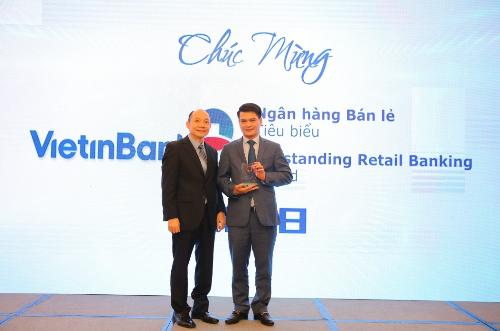 VietinBank nhận cú đúp giải thưởng bán lẻ năm 2018.