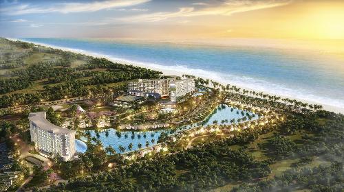 Phối cảnh dự án Mövenpick Resort Waverly Phú Quốc