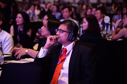 Sự kiện thu hút gần 500 lãnh đạo doanh nghiệp và chuyên gia nhân sự.