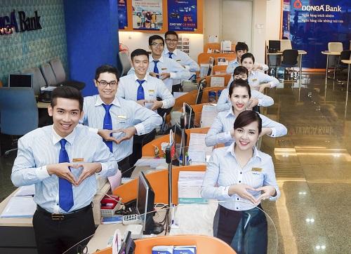DongA Bank có kết quả kinh doanh khả quan trong năm 2018.