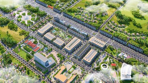 Dự án Sunfloria City được quy hoạch trở thành một khu đô thị với nhiều tiện ích cho cư dân.