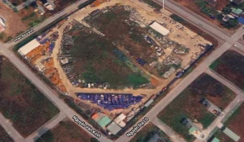 Vị trí khu đất rộng hơn 2,9 hecta. Ảnh: Google Maps.