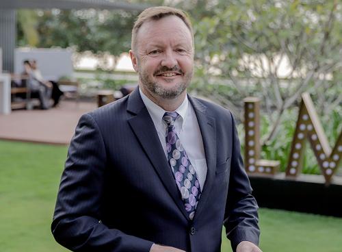 Ông David Bedingfield - đồng giám đốc Công ty Sapphire JSC.