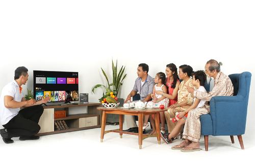 Clip TV phối hợp cùng các hãng TV mang đến nhiều khuyến mãi.