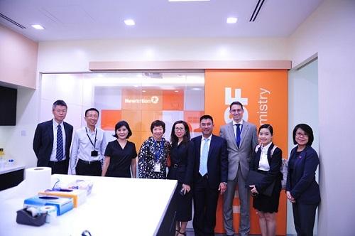Đoàn công ty NutiFood thăm văn phòng BASF khu vực Đông Nam Á.