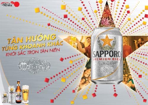 Sapporo-Tận hưởng từng khoảnh khắc, khởi sắc trọn tân niên