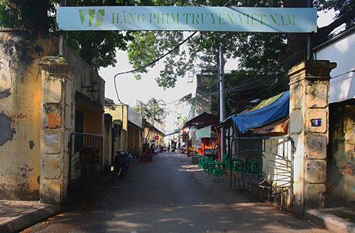 Trụ sở hãng phim truyện Việt Nam - nơi xảy ra nhiều sai phạm trong cổ phần hoá. Ảnh: Ngọc Thành