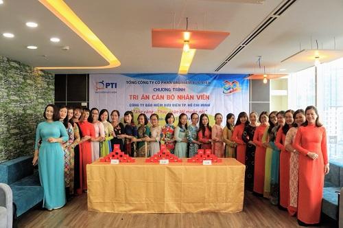 PTI-HCM tổ chức chương trình tặng vàng cho cán bộ nhân viên.
