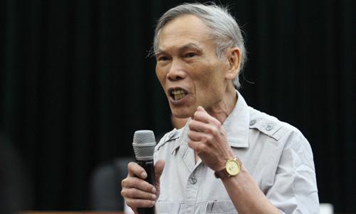 Ông Trương Đình Tuyển - nguyên Bộ trưởng Bộ Thương mại. Ảnh: N.M
