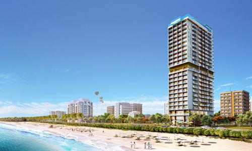 TMS Luxury Hotel Danang Beachkhai trương vào tháng 10 vừa qua.