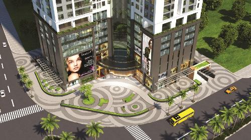 Golden Park Tower tiếp giáp 3 mặt đường lớn. Hotline: 098.151.3838. Website: https://goldenpark.com.vn