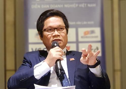 Ông Vũ Tiến Lộc - Chủ tịch VCCI, đồng Chủ tịch VBF 2019. Ảnh: HT