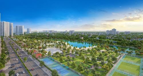 Vinhomes ra mắt đại đô thị thứ hai tại Hà Nội - 1