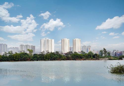 Mipec City View là một trong những dự án được mong đợi nhất khu vực Hà Đông