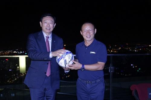 Chủ tịch Tập đoàn Lotte gặp mặt  - 2