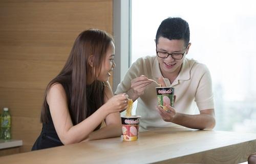 Sáng kiến cây thịt thật trong mì Omachi được xem là yếu tố đóng góp lớn vào kết quả kinh doanh khả quan của Masan Consumer.