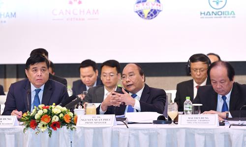 Thủ tướng: Đưa vấn đề của doanh nghiệp lên trang đầu trong sổ tay điều hành của lãnh đạo