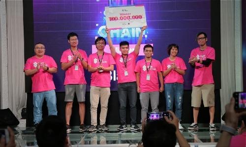 Đội Blarity giành giải nhất chung cuộc Hackathon State of Chain.
