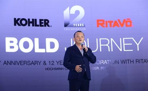 Ông Võ Mậu Quốc Triển - người đã dẫn dắt và lèo lái công ty từ ngày thành lập cho đến nay - chia sẻ về hành trình 20 năm thành lập RitaVõ.