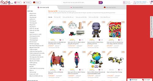 Fado cập nhật liên tục mức giảm giá của Amazon Mỹ trong tuần lễ Black Friday 2018.