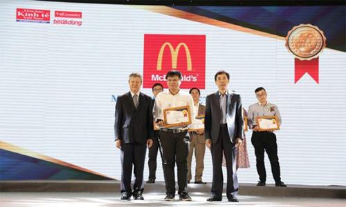 Gà rán McDonald's vào Top 100 sản phẩm Tin & Dùng