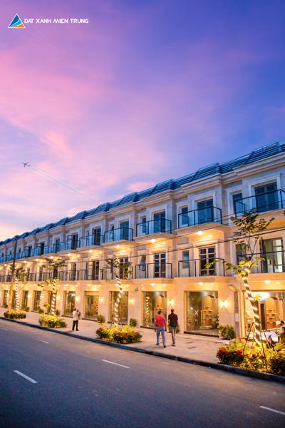 Dự án nằm trên trục đường huyết mạch nối với các khu du lịch nổi tiếng tại Đà Nẵng.