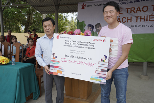 Fuji Xerox Việt Nam phối hợp với Tổ chức Cứu trợ Trẻ em