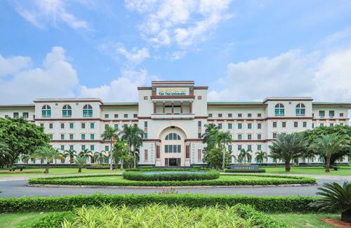 Đại học Tân Tạo tiêu chuẩn quốc tế thuộc trong dự án Everde City do tập đoàn Tân Tạo làm chủ đầu tư