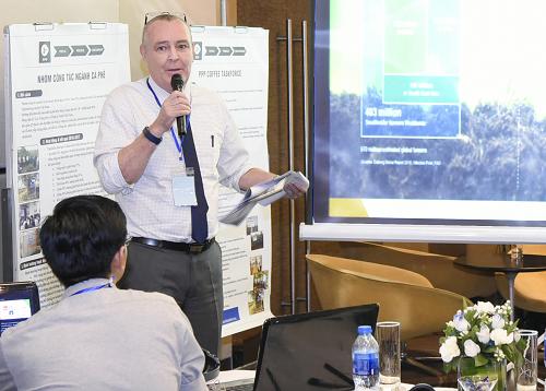 Ông Colin Taylor - Đại diện IFC khu vực Đông Á, Thái Bình Dương chia sẻ về liên minh Better Life Farming.