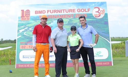 129 golf thủ tham dự giải Golf BMD Furniture 2018 lần 3