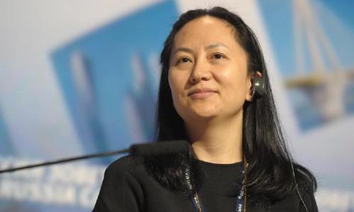 Bà Meng Wanzhou - Giám đốc tài chính Huawei. Ảnh: CNN
