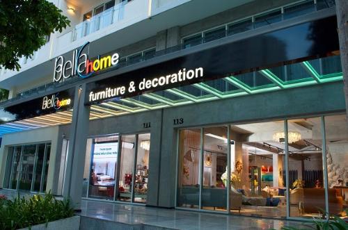 Showroom Bellahome đặt tại quận 2, TP HCM.