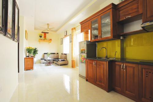 Hình ảnh thực tế tại một căn hộ của tòa M3.2 dự án P.H Center Hưng Yên.