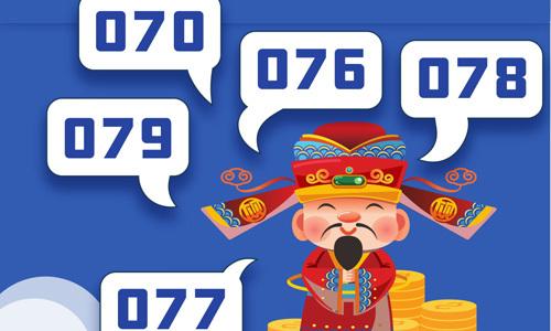 Giải mã ý nghĩa các đầu số điện thoại của người phương Đông