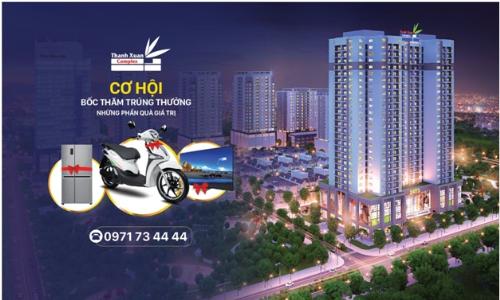 Mở bán 65 căn hộ đẹp nhất dự án Thanh Xuân Complex