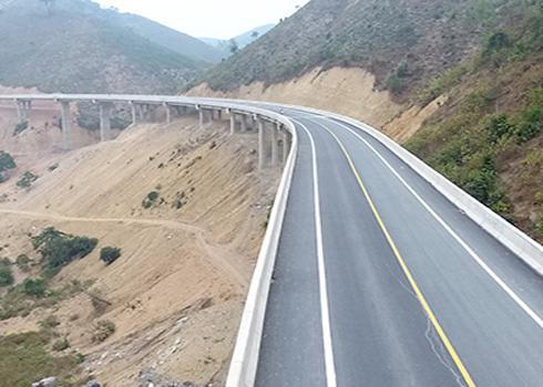 Tuyến đường Thái Nguyên Chợ Mới do Cienco 4 đầu tư.