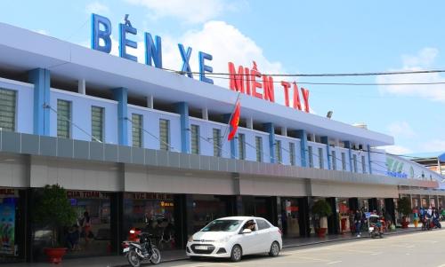Bến xe miền Tây nằm tại quận Bình Tân, TP HCM. Ảnh: Website công ty.