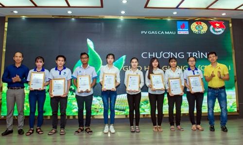 Khí Cà Mau tổ chức chương trình 'Gieo hạt giống tương lai'