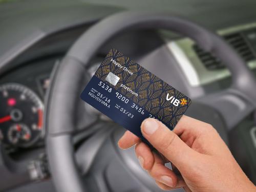 Thẻ VIB Happy Drive thu hút sự quan tâm nhiều nhất của thị trường sau thời gian ngắn ra mắt.