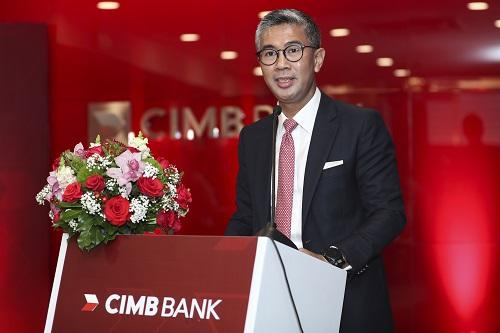 ông Tengku DatoSri Zafrul Aziz - CEO Tập đoàn CIMB