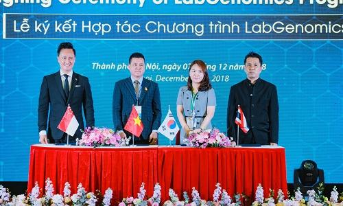 LabGenomics hợp tác với LNG0168 phát triển công nghệ sinh học