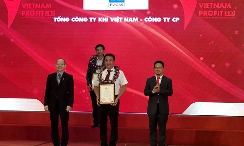 PV Gas vào top 500 doanh nghiệp lợi nhuận tốt nhất Việt Nam