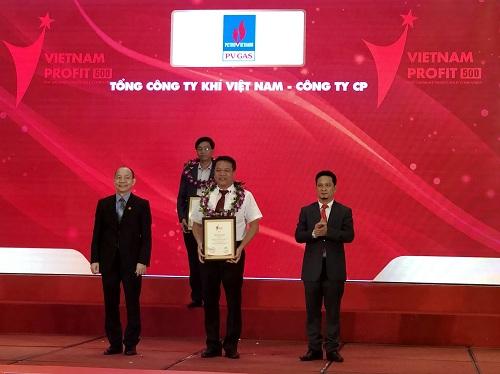 Tổng công ty Khí Việt Nam đứng thứ 5 trong bảng xếp hạng Profit 2018.