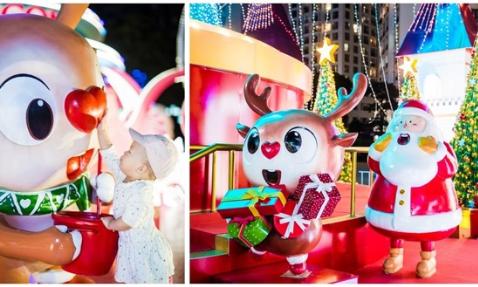 61 trung tâm thương mại Vincom tổ chức lễ hội Giáng sinh