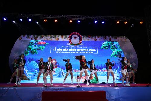 Những tiết mục biểu diễn hấp dẫn tại Lễ hội mùa đông Ciputra 2018