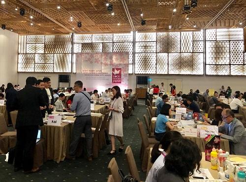 Sự kiện kết nối doanh nghiệp Good Goods Japan 2018 thu hút sự tham gia của nhiều doanh nghiệp Nhật với những sản phẩm gia dụng chất lượng.