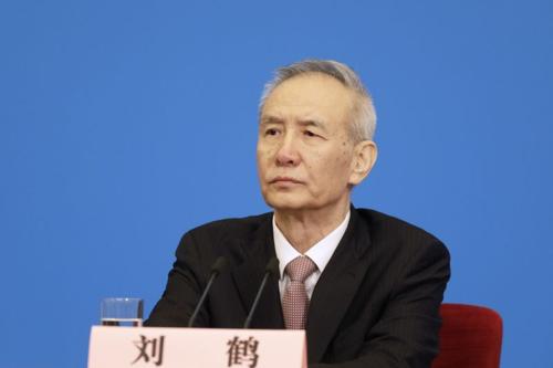 Phó Thủ tướng Trung Quốc - Lưu Hạc. Ảnh: Bloomberg